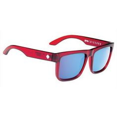 3103e4e6f1 Spy DISCORD TRANS RED - HAPPY BRONZE W  LIGHT BLUE SPECTRA Sunglasses (155  CAD