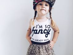 So Fancy Tank – Passive Juice Motel My Little Girl, My Baby Girl, Baby Love, Girly Girl, Charlotte, Im So Fancy, Look Girl, Kid Styles, My Princess