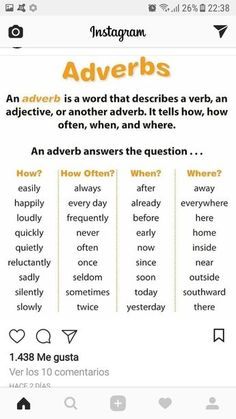 √ Free Grammar Worksheets Fourth Grade 4 Adjectives Adverbs where why when . 3 Free Grammar Worksheets Fourth Grade 4 Adjectives Adverbs where why when . Pdf Adjectives and their Difficulties In English and Arabic Adjectives Grammar, English Adjectives, English Grammar Rules, Teaching English Grammar, English Verbs, Grammar And Vocabulary, English Language Learning, English Phrases, English Writing