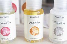 huiles végétales Beautélive