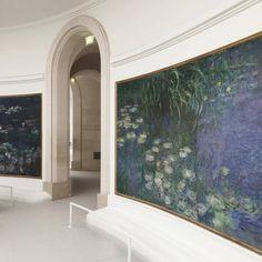 Water Lilies by Claude Monet, Musée de l'Orangerie, Paris. Claude Monet, Art Et Architecture, Minimalist Street Style, Minimalist Fashion, Minimalist Outfits, Art Hoe, Art Inspo, Colors, Art History