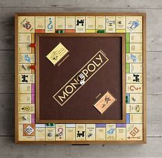 For the Gamer Custom Monopoly, Harry Potter Monopoly, Monopoly Board, Classic Board Games, Linen Shop, Storage Mirror, Thing 1, Modern Shop, All Games