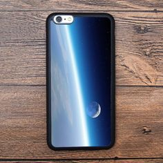 Earth outer space and moon Case For IPhone