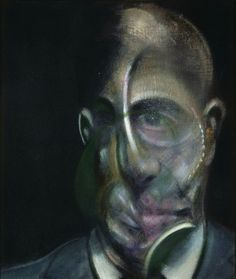 Francis Bacon: Portrait of Michel Leiris (1976)