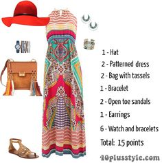 Are you over or underdressed? - a simple system to give you Boho Chic Outfits Summer, Summer Outfits For Teens, Boho Outfits, Summer Clothes, Boho Fashion Over 40, Fashion For Women Over 40, Women's Fashion, Fashion Tips, Womens Maxi Skirts