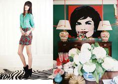 Kelly Wearstler Resort 2013 and Lonny Magazine