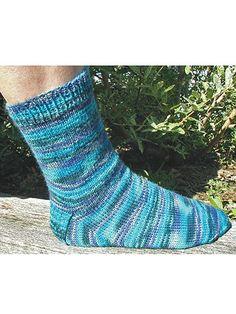 Basic Sock Knit Pattern