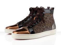Christian Louboutin Louis Flat 'Metallic Leopard'