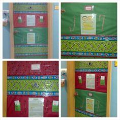 December Door decoration Hark the Herald Angels Sing ...