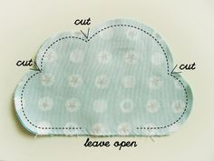 cloud pattern for stuffing