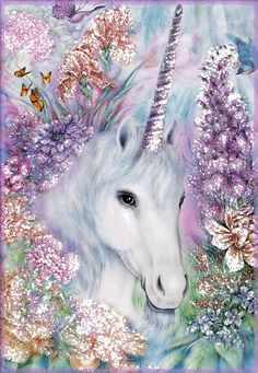 Wallpaper unicorn fantasy fairy art Ideas for 2019 Unicorn And Fairies, Unicorn Fantasy, Real Unicorn, The Last Unicorn, Unicorn Horse, Unicorns And Mermaids, Unicorn Art, Magical Unicorn, Unicorn Crafts