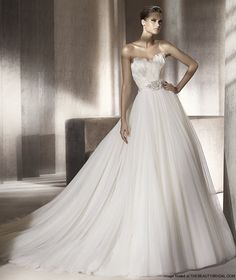 I just listed my Manuel Mota wedding dress for sale. Check it out.