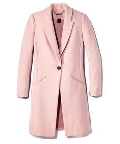 White House Black Market coat: $250; whitehouseblackmarket.com