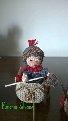 il soldato#biga #presepe#crochet #amigurumi#uncinetto