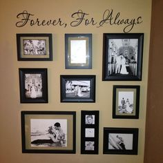 Similar Ideas Marissa Kay Creations Wedding Wall Collage
