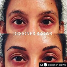 HAPPY MONDAY EVERYONE! We're kicking off the week with style and profiling a #BROWBOSS Artist with AMAZING skills, Jennifer from @designer_brows. Her clients new brows are absolutely PERFECT. Way to go & welcome to our community! 😍😍😍