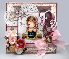 DT card for Magnolia-licious http://magnoliastamps.us/store2/ by Cathy Lee at Cathy's creative Place. #cards #crafts #DIY #rubberstamping #copicmarkers #cardmaking #magnoliastamps