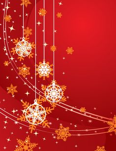 #Christmas #Background #Red, #vector #graphic by #DryIcons.com.