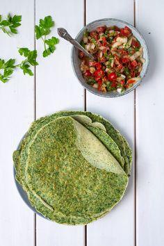 Spinatpandekager - lækre og nemme madpandekager med spinat.