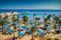 Photo about The sea view and beach in Egypt. Image of paradise, beach, umbrella - 18178287 Best Places To Travel, Cool Places To Visit, Egypt Culture, Egypt Fashion, Visit Egypt, First Photograph, Travel And Leisure, Luxor, Where To Go