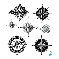 The Best Compass Tattoo Designs, Ideas and Images with meaning and drawings. Compass tattoos inspirations are beautiful for the forearm, wrist or back.