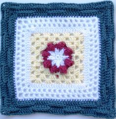 """Free pattern for """"Basket of Berries - 12"""" Square"""" by MoCrochet!"""
