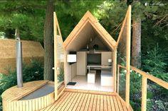Tree House Rental near Lake Bled