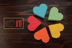 Magnificas cajas corazón - Manualidades para Regalar