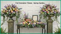 urn arrangement for memorial service | 1000+ images about Urn Floral Arrangements on Pinterest | Cremation ...
