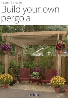 How to Build a DIY Pergola