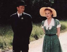 Maureen O'Hara and John Wayne in The Quiet Man....one of my all time favorite movies :-)