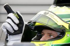 The eyes give him away. Mick Schumacher, Michael Schumacher, My Test, Worlds Of Fun, Ferrari, Champion, Racing, F1, Balls