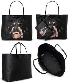 Givenchy Antigona Rottweiler Tote