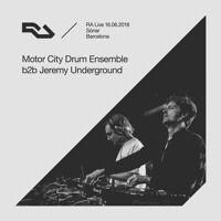 Ra Live 2018 06 16 Jeremy Underground B2b Motor City Drum Ensemble Sonar Barcelona By Resident Advisor On Soundcloud