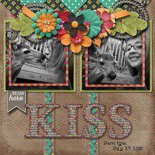 November Mixology- Closely Knit 12x12 Layout Templates