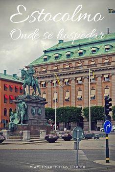 Hotel com ótima localização central em Estocolmo. Pertinho da estação central, chegada do trem ou ônibus vindos do aeroporto. #suecia #viagem #ferias #entrepolos