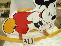 "American Toy and Furniture ""Mickey Mouse"" rocker"