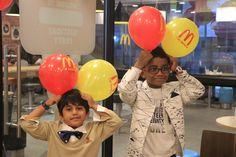 McDonald's Introduces Birthday Party Themes and We're Lovin' It! Mcdonalds Birthday Party, Kids Birthday Party Venues, Happy Birthday, Celebrities, Fun, Happy Brithday, Celebs, Urari La Multi Ani, Happy Birthday Funny