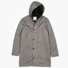 Saturdays Surf NYC Nicolas Parka Grey