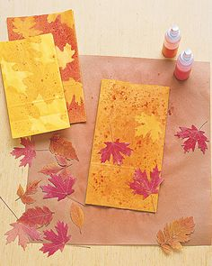 Autumn Leaf Luminarias | Step-by-Step | DIY Craft How To's and Instructions| Martha Stewart