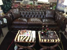 ... Mobley Furniture Of Perry, GA. Get The Restoration Hardware Look For  Thousands Less! This Italian Leather Sofa Is One Of