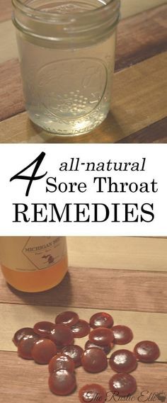 Holistic Remedies 4 All-Natural Sore Throat Remedies - In an ideal world, we would never need a sore throat remedy. The natural preventatives we use every cold and flu season would keep us from ever getting sick in the first place. Alas, we don't Sore Throat Relief, Sore Throat And Cough, Sore Throat Remedies, Cough Remedies, Dry Cough, Homeopathic Remedies, Homemade Cold Remedies, Cold Remedies Fast, Health And Wellness