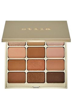 The Products Every Working Woman Needs #refinery29  http://www.refinery29.com/professional-makeup-products#slide-19  Give eyes some depth with this Stila palette. With a dozen warmed-up neutrals, you can create infinite looks: Use one color alone, blend two on the lid, or swirl a few together. You can't screw it up, and, yes, you can use your fingers. #makeupproducts