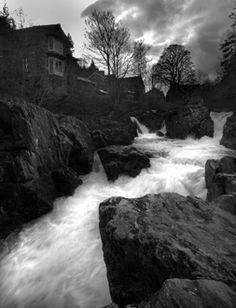 Welsh Village Falls, Betws-y-Coed, Wales