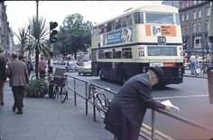 O'Connell Street 1979 | Flickr - Photo Sharing! Dublin City, Dublin Ireland, England Uk, Old Photos, Transportation, Street View, Explore, Buses, Trains