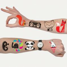 Ink'd Temporary Tattoos by PeskimoAvailable from No.31 in store and online