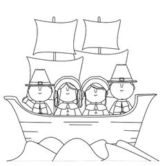 Free #Thanksgiving Coloring Pages