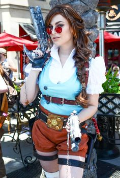 #Steampunk Tomb Raider! #Cosplay created by Meagan Marie. #Xerposa.