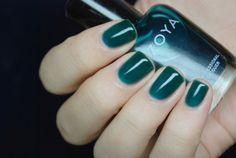 ZOYA 640 frida //// #green, sheer, glossy, jelly finish