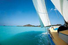 Sailing in Antigua Islands